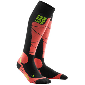cep Merino Ski Socks Women black/coral